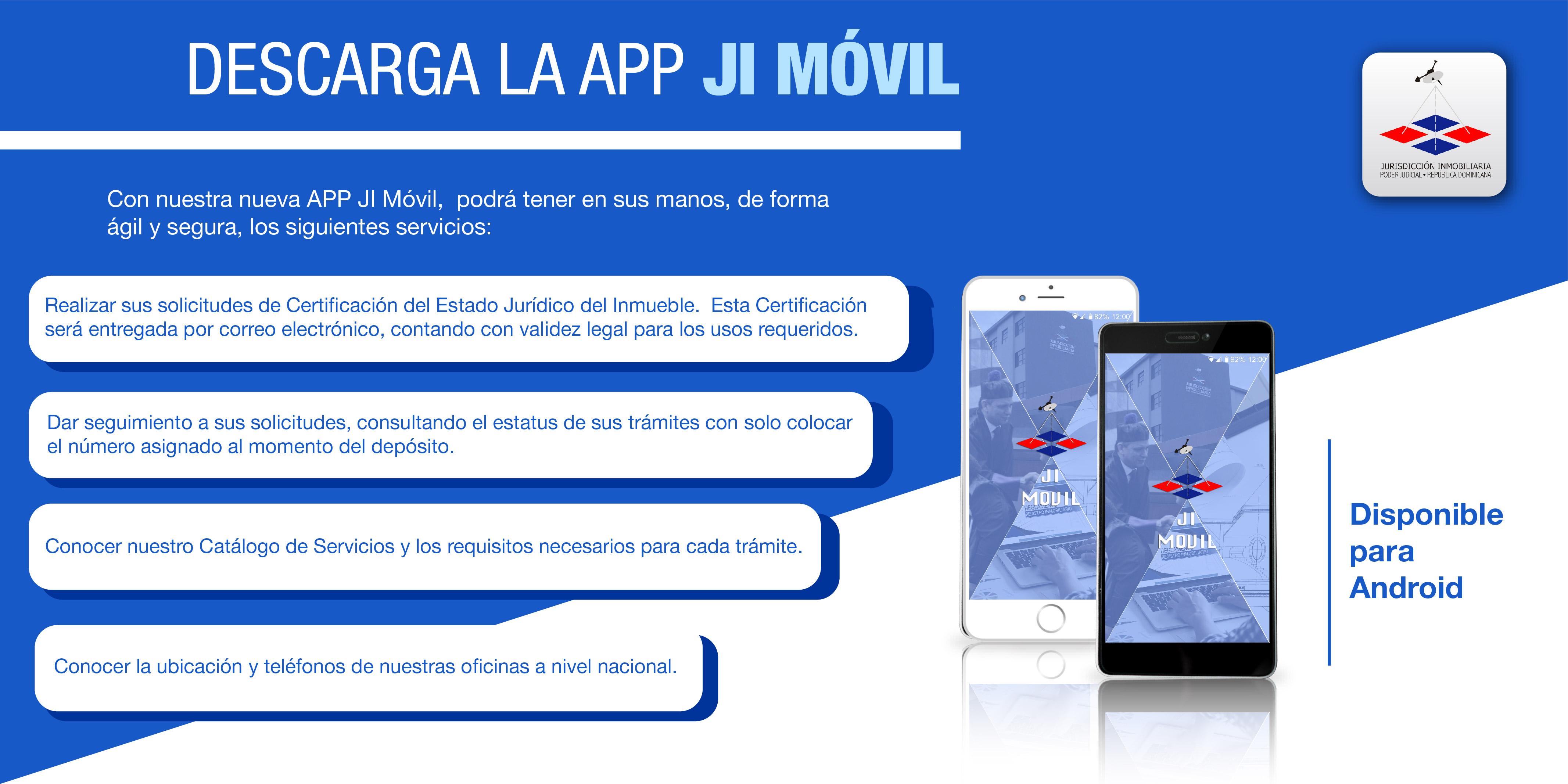 Jurisdicción Inmobiliaria lanza nueva APP para dispositivos móviles.